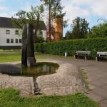 """""""Der Brunnenplatz"""" - Herbert Hennes"""