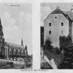 Kirche und Burg Eltz um 1925
