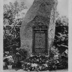 TVR Gedenkstein auf den TVR Aussenplatz