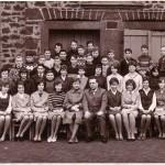 Klassenbild Entlassung Jahrgang 1949-50