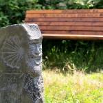 """Jakobsstele am Wirtschaftsweg"" - Herbert Hennes"