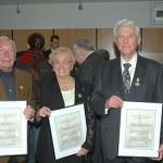 Theo Elben, Hilde Linden & Erich Schwamm