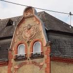 """""""Zwerchhaus"""" Ecke Goten- v. Eltz-Straße - Herbert Hennes"""