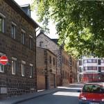 """Krotzenhäuser in der Lambertstraße"" - Herbert Hennes"