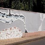 """""""Hundertwassermauer in der Gedächtnisstraße"""" - Herbert Hennes"""