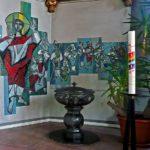 """""""Taufbecken in St. Mauritius"""" - Wilfried Mohr"""