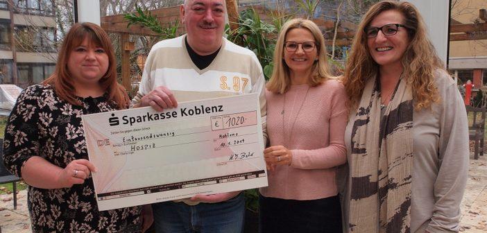 Kästchenssparer spendeten für Koblenzer Hospiz
